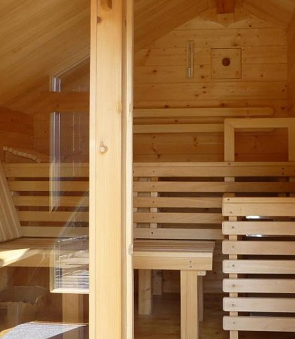 Wellness in the mountains: Bergh-Sauna